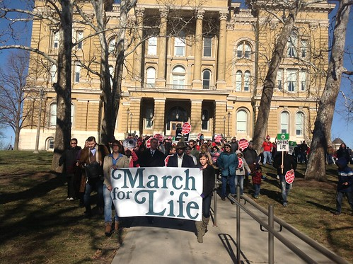 Midwest March for Life at Iowa State Capitol