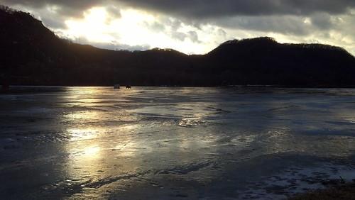 late afternoon at Lake Winona