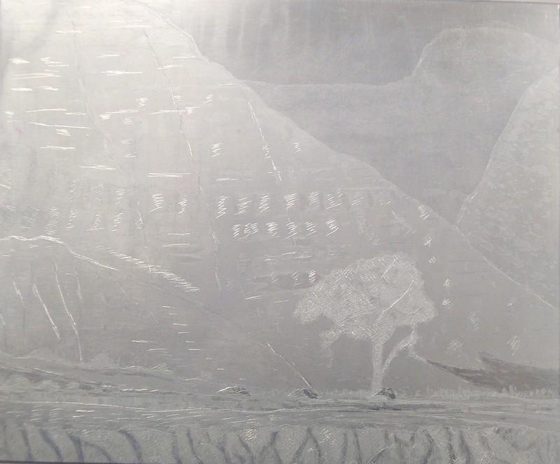 Zinc etching plate