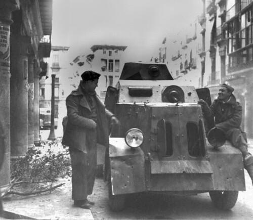 Batalla de Teruel, en memoria de la gran fotoperiodista Kati Horna. by Octavi Centelles