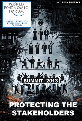 DAVOS 2013 POSTER by Colonel Flick/WilliamBanzai7