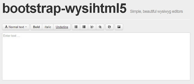 bootstrap-resources-wysihtml5