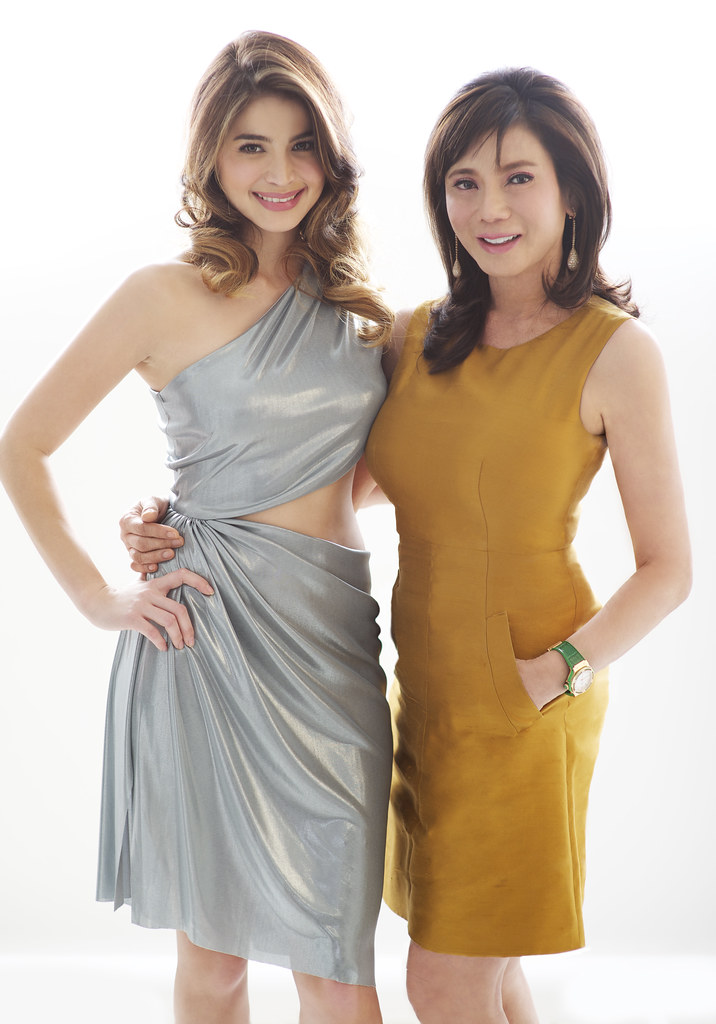 Anne Curtis with Vicki Belo