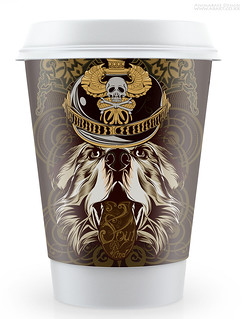 soul of the wind coffee cup case design