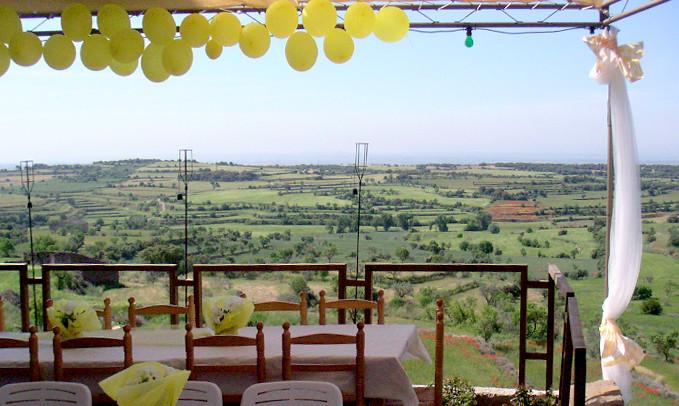 Terrassa del restaurant