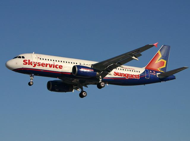 Skyservice A320 C-FTDF