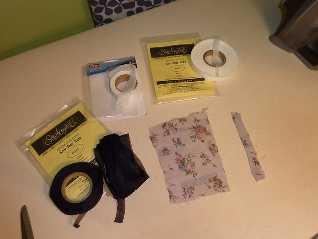 Fusible Knit Stay Tape (Narrow Interfacing Strips)