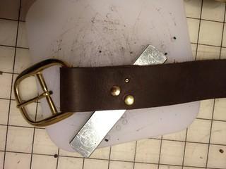 Strap making 1