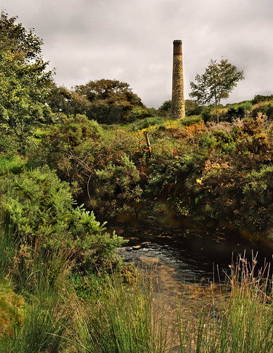 • Lonely Bodmin Chimney •