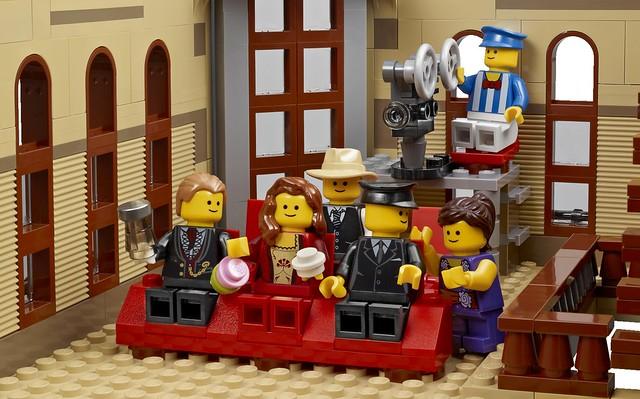 LEGO Creator Expert 10232 - Palace Cinema -Detail 18