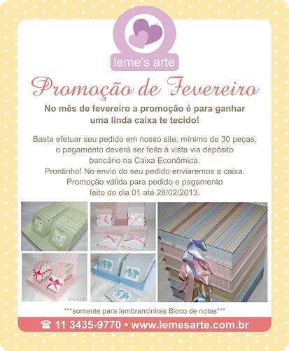 """Promoção Fevereiro """"Quer ganhar uma linda Caixa?"""" by LEME´S ARTE / By Helenita Leme"""