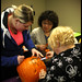2012 Reeves College Calgary North Campus Students Carving Batman Pumpkin