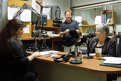 <p>M.R.C. Greenwood, University of Hawaii president, and JoAnn Inamasu, the governor's representative on Maui, were on the KAOI Radio Morning Show on January 30.</p>