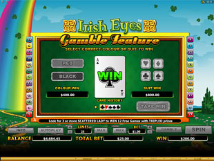 Irish Eyes Gamble Feature