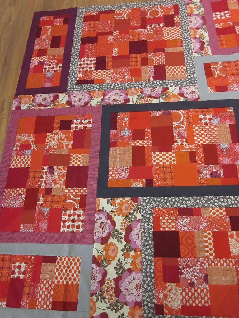Meaghan's 9-Patch Puzzle Quilt!