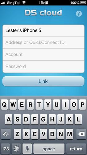 Cloud Station iOS App - Setup