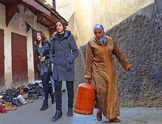 Morocco, Fez, daily life in the medina #Μaroc
