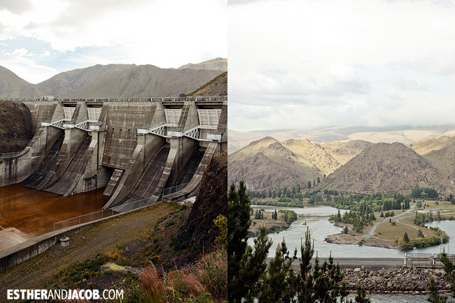 Benmoore Dam | Day 2 New Zealand Contiki Tour | Lake Ohau to Dunedin | A Guide to South Island