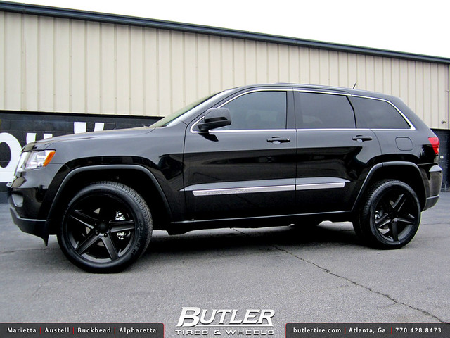 jeep grand cherokee with 22in srt8 wheels flickr photo sharing. Cars Review. Best American Auto & Cars Review