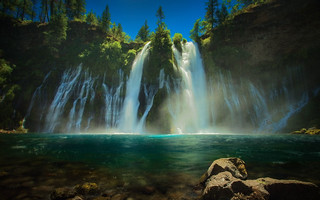 Burney Falls - Explored