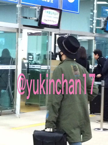 G-Dragon - Haneda Airport - 02mar2015 - yukinchan17 - 01
