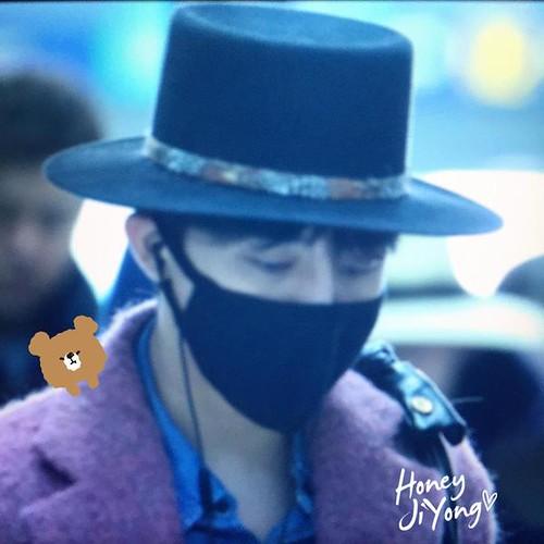 Big Bang - Incheon Airport - 21mar2015 - G-Dragon - honeyjiyong - 02