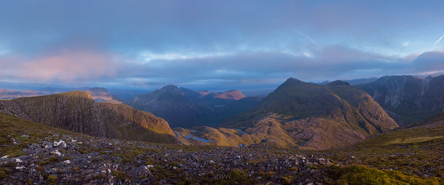 morning tORRIDON PANO