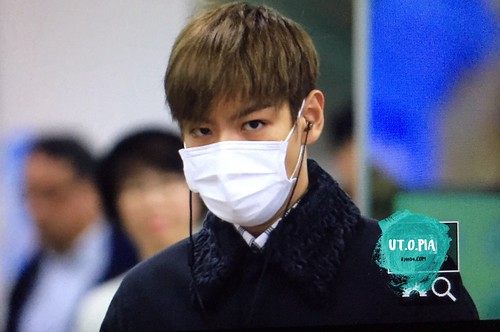 TOP Arrival Seoul from Tokyo 2015-111-03 (18)