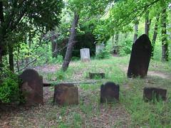 Blazing Star Cemetery, 1740.