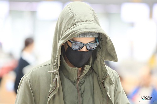Big Bang - Incheon Airport - 01apr2015 - TOP - Utopia - 06