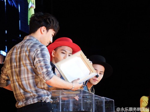 G-Dragon, Seung Ri & Tae Yang - V.I.P GATHERING in Harbin - 21mar2015 - 永乐票务韩国站 - 01