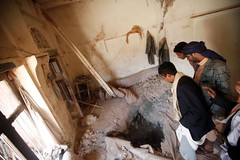 Coalition raids kill 9 in central Yemen: medical sources, residents