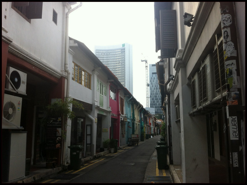 Alley of Arab Street