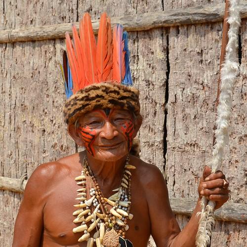 Amazonas Shaman by Ginas Pics