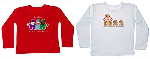 camisetas personalizadas Navidad