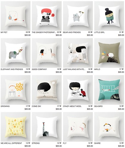 cover pillows by Yaelfran