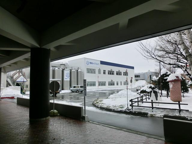 雪印メグミルク(株) 札幌工場 工場見学