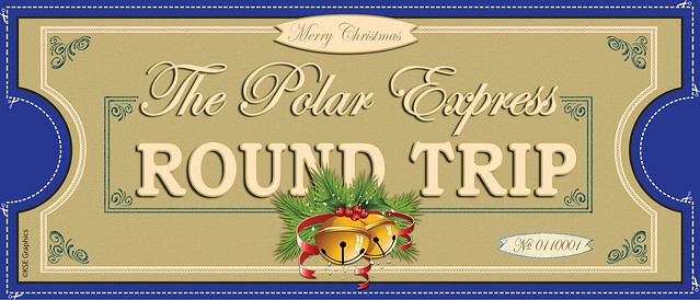 Free Polar Express Printable Tickets | New Calendar Template Site