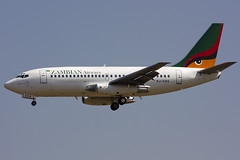 9J-KDK B737-200 Zambian Airways