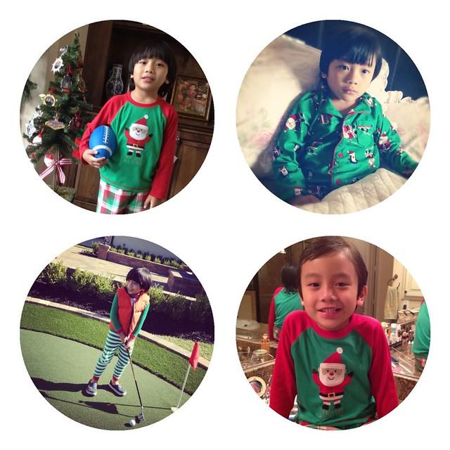 Christmas pjs 2012