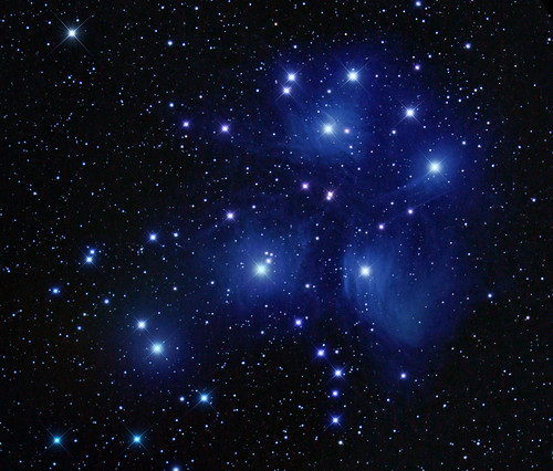 M45 Re-process. by Mick Hyde