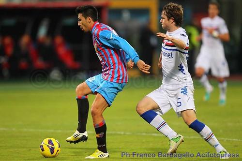 Sampdoria-Catania, etnei a caccia dell'ottavo posto$