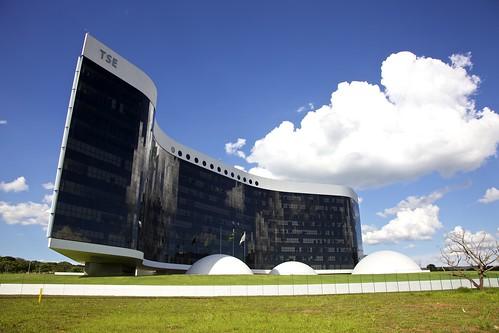 Prédio da nova sede do Tribunal Superior Eleitoral - Brasília