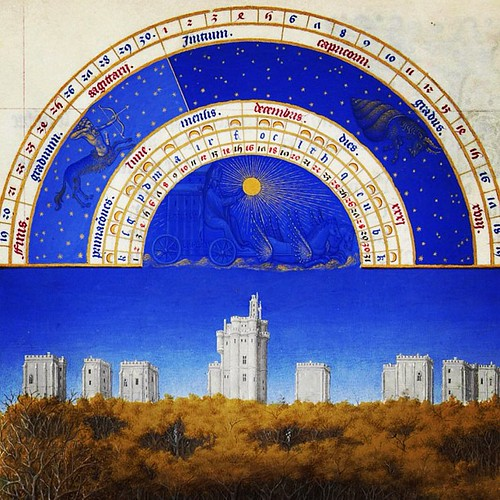 From the Très Riches Heures du Duc de Berry - one of my favorite things in the whole world.