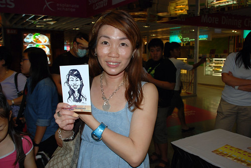 digital live caricature sketching for iCarnival (photos) - Day 2 - 44