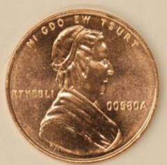 US Mint Nonsense One Cent