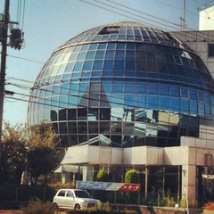 #r2d2 -ish building on my #walk #osaka #japan