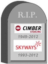 Cimber Sterling Tombstone