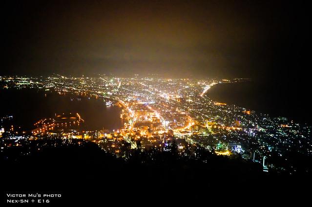 北海道  函館夜景