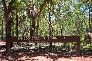 Bamboo Creek Tin Mine